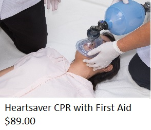 Heartsaver CPR with First Aid $89