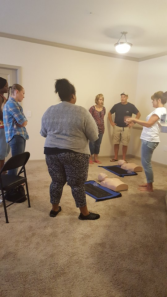 Corporate Cpr Training Class